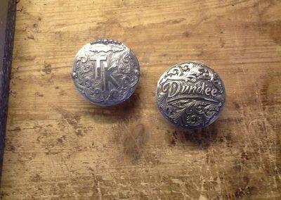 Custom Silver Horn caps