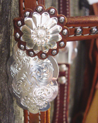 Headstall detail